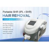 Quality Portable IPL Laser Hair Removal Machines SHR OPT System / Facial Rejuvenation Equipment for sale