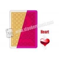 Quality XF Invisible Ink Markings On NTP Blackjack Plastic Cards For Playing Cards Reader And Contact Lenses for sale