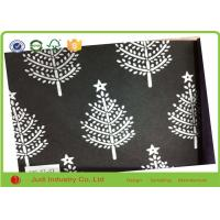 China Fancy Design Printed Tissue Wrapping Paper Flatly Packing For Decorative on sale