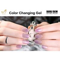 Quality Healthy Thermal Mood Changing Gel Nail Polish Changes Colour With Temperature for sale