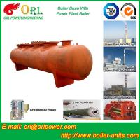 Quality SA516GR70 Steel steam boiler mud drum ASME for sale