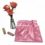Quality Slider air bubble bag ziplock bags custom for packaing cosmetic item for sale