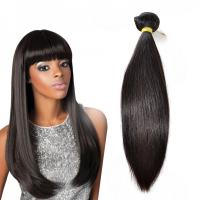 Quality Natural Color Straight Indian Hair Extensions , Grade 7A Virgin Hair With Soft And Luster for sale