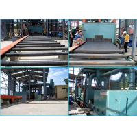 Quality Pass Through Type Steel Shot Machine , Rust Removal Roller Conveyor Shot Blasting Machine for sale