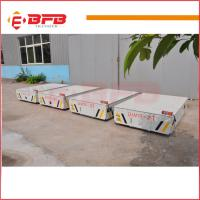 Buy cheap Hot sale Industrial Motorized steerable transfer car on cement floor China factory from wholesalers