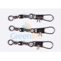 Quality Coiled Lanyard Fishing Swivel Hook Nickle Plating Simple Snap Pin Combo for sale