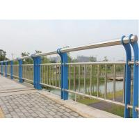 Quality Composite Pipe Bridge Steel Mesh Fencing Round Post Abrasion Resist For Highway for sale