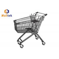 China Easy Carrefour Supermarket Shopping Trolley Grocery Shopping Cart For Carry on sale