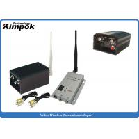 Quality CCTV Wireless Analog Video Transmitter 8 Channels Image Transmission Equipment for sale