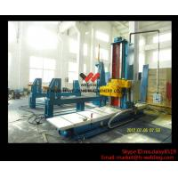 Quality Automatic End Face Milling Machine 6KW 1200mm * 1500mm for H Beam / Box Beam Line for sale