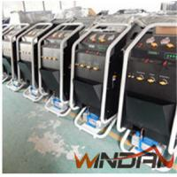 China 2 Wheel Oil Less Refrigerant Recovery Unit with 1L Vacuum Pump Manual Operation on sale