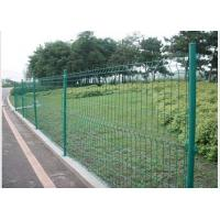 Quality PVC Coated Steel Wire Fencing 55mmX200mm Wire Mesh Garden Fence for sale