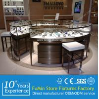 Quality shop counter design  jewelry showcases for sale