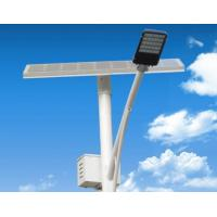 Quality Bright Integrated Solar Street Light / Street Lamp Solar With 80 Watt Solar Panel for sale