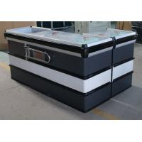China Customized Supermarket Cashier Checkout Counter Table With Long Life Time on sale