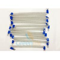 Quality Stop - Dropping Plastic Coiled Security Tethers Translucent 15 CM Wire Ropes for sale