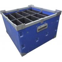 Quality Waterproof pp correx plastic black folding stackable moving boxes for sale