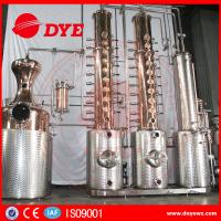 Quality Automatic Vodka Gin Copper Distilling Equipment System Column for sale