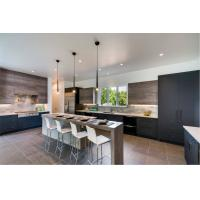 Quality French modern custom high gloss kitchen cabinet for sale