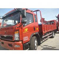 Quality Transport Double Axles HOWO Light Duty Trucks With 12.00R20 Tyres for sale