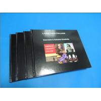 Quality Commercial Black glossy paper Hardcover Coffee Table Book Printing Services for sale