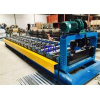 Quality Hydraulic Pressure Roof Panel Roll Forming Machine With 13-16 Stations Roller for sale