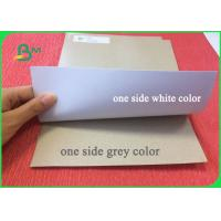 Quality 200g 230g 300g One Side Coated Duplex Board Grey Back for Packaging for sale