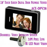 """Quality 2.8"""" LCD Screen Digital Peephole Viewer Doorbell Video Camera Recorder Access Control DVR for sale"""