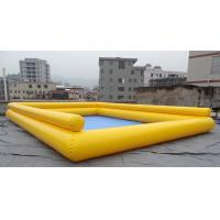 Buy Big Double Layers Inflatable Kids Swimming Pool / Inflatable Ball Pool Fot Children at wholesale prices
