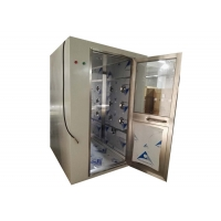 Quality CE Electronical Interlock Cleanroom Air Shower Stainless Steel 304 for sale