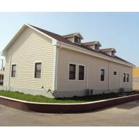 Quality Customized Steel Structure Movable Prefab House , Sandwich Panel Container House for sale