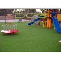 Quality Professional Beautiful Artificial Grass For Playground , Fake Grass Carpet for sale