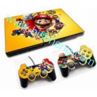 China PS2 Slim Skin sticker with 2pcs controller skins on sale