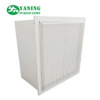Quality Powder Coating Steel HFU Clean Room Fan Filter Units With Air Damper Hepa Box for sale