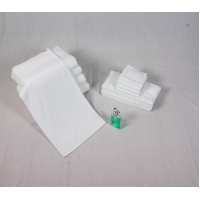 Quality Luxury 21x2'S White Cotton Face Towel for sale