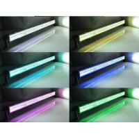 Buy cheap Halo RGB Off Road LED Light Bar Straight Black Housing Spot / Flood / Combo from wholesalers