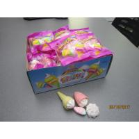 Quality Four In One Ice Cream , Bun , Strawberry Shaped Sweet Marshmallow Candy For Christmas for sale