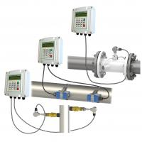 Quality low cost ultrasonic flow meter with pulse output  lcd display water flow meter for sale