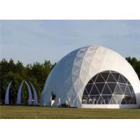 Quality Typical Structure Geodesic Dome Tents For Large Commercial Activities for sale