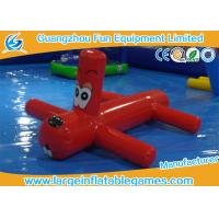 Quality 0.9mm PVC Inflatable Water Park Games Red Inflatable Dragonfly Water Toys For Children for sale