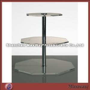 Quality acrylic cake display,acrylic floor display for sale