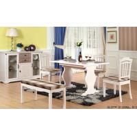 Quality White Color Contemporary Dining Room Furniture Modern Kitchen Dining Tables for sale