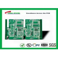 Quality GPS Printed Circuit board  8layer FR4TG150 1.6MM Immersion Gold green solder mask for sale