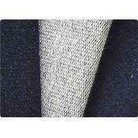 Quality Comfortable Knitted Denim Fabric , Curtain / Bag / Dress Jeans Fabric for sale