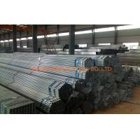 Quality Zinc Coating ERW Pre Galvanized Steel Pipe SCH30 SCH40 BS 1387 for sale