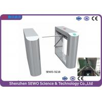 Quality Stainless steel Bridge style turnstile waist height 3 arm turnstile gate for sale