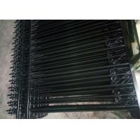 Quality Anti - Climb Automatic Driveway Gates Garrison Steel Tubular Fence For Yard for sale