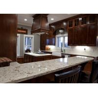 Quality Grey Conquistador Stone Vanity Countertops / Waterfall Kitchen Island Bench for sale