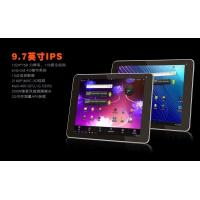 Quality Internal 3G Phone call 9.7 Inch Android Tablet PC supporting analogue TV for sale