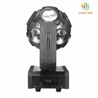 Quality RGBW Infinite Rotation LED Sharpy Beam Football Light 12*12W 4in1 With Dmx 512 for sale